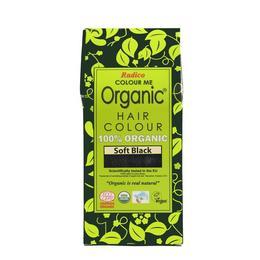 Vopsea de par pe baza de plante Ecologica 100% - Negru delicat