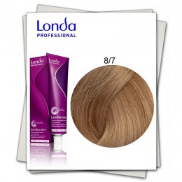 Vopsea Permanenta - Londa Professional nuanta 8/7 blond deschis maroniu