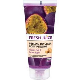 Peeling Corporal cu Extracte de Fructul Pasiunii si Zahar Brun Fresh Juice, 200ml