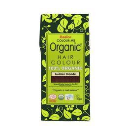 Vopsea de par pe baza de plante Ecologica 100% - Blond auriu
