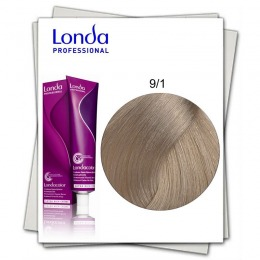 Vopsea Permanenta - Londa Professional nuanta 9/1 blond luminos cenusiu