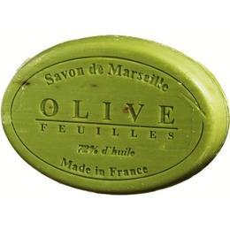 Sapun Natural de Marsilia 100g Exfoliant Masline Olive Feuilles Le Chatelard 1802 Oval