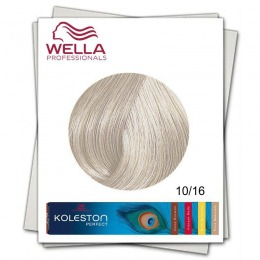 Vopsea Permanenta - Wella Professionals Koleston Perfect nuanta 10/16 blond luminos deschis cenusiu violet