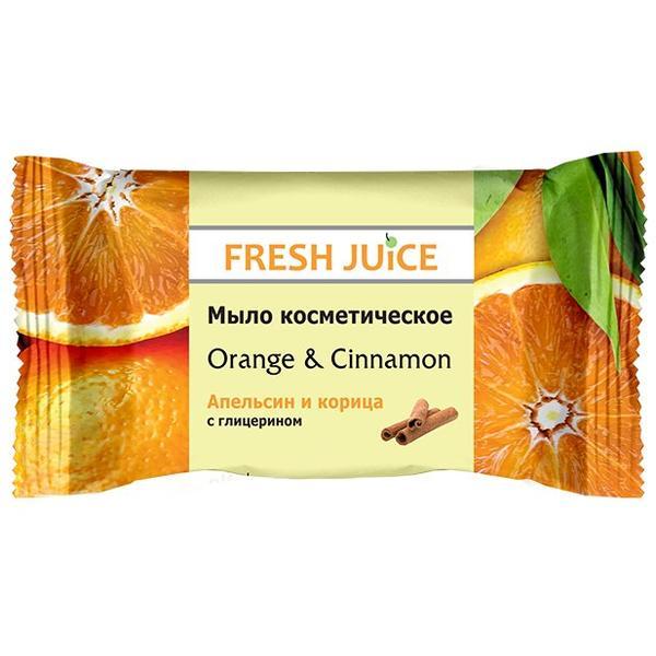 Sapun Cosmetic cu Portocala si Scortisoara Fresh Juice, 75g imagine produs