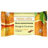 Sapun Cosmetic cu Portocala si Scortisoara Fresh Juice, 75g