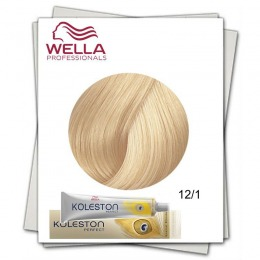 Vopsea Permanenta - Wella Professionals Koleston Perfect nuanta 12/1 special blond cenusiu