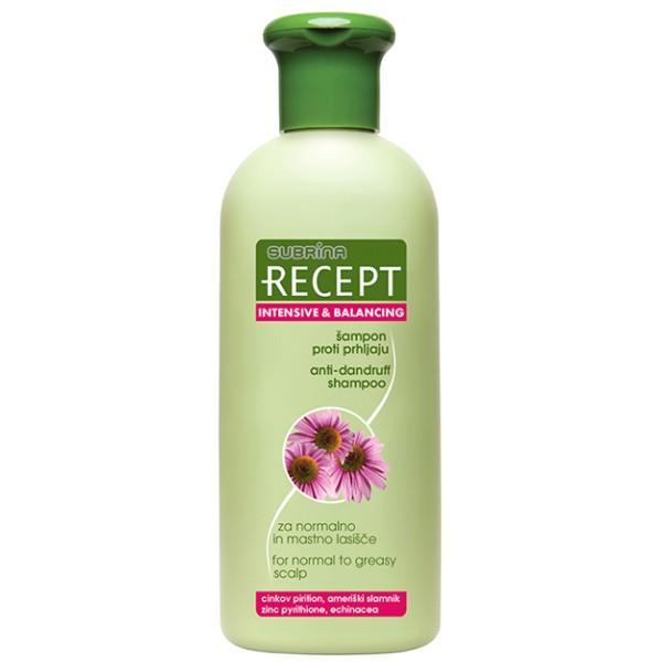 Sampon Intensiv Antimatreata pentru Par Normal spre Gras - Subrina Recept Intensive & Balancing Anti-Dandruff Shampoo for Normal to Greasy Scalp, 400ml imagine