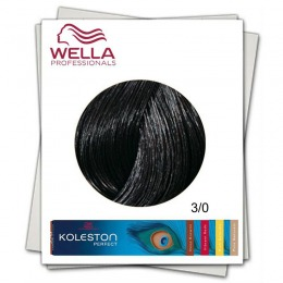 Vopsea Permanenta - Wella Professionals Koleston Perfect nuanta 3/0 castaniu inchis