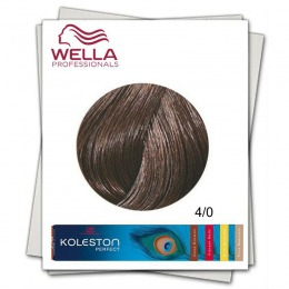 Vopsea Permanenta - Wella Professionals Koleston Perfect nuanta 4/0 castaniu mediu