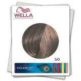 Vopsea Permanenta - Wella Professionals Koleston Perfect nuanta 5/0 castaniu deschis