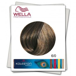 Vopsea Permanenta - Wella Professionals Koleston Perfect nuanta 6/0 blond inchis