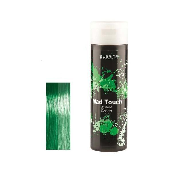 Gel pentru Colorare Directa fara Amoniac - Subrina Mad Touch Direct Hair Colour - Iguana Green, 200ml imagine produs