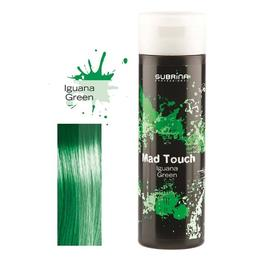 Gel pentru Colorare Directa fara Amoniac - Subrina Mad Touch Direct Hair Colour - Iguana Green, 200ml