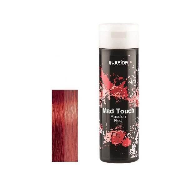 Gel pentru Colorare Directa fara Amoniac - Subrina Mad Touch Direct Hair Colour - Passion Red, 200ml imagine produs