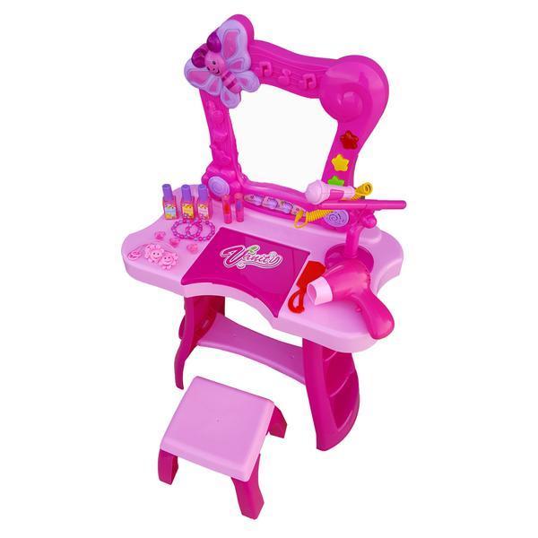 Set De Frumusete Pentru Fetite Cu Microfon Hi Fi Si Accesorii