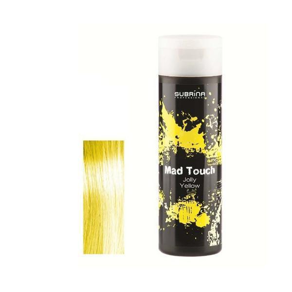 Gel pentru Colorare Directa fara Amoniac - Subrina Mad Touch Direct Hair Colour - Jolly Yellow, 200ml