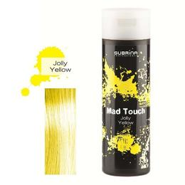 Gel pentru Colorare Directa fara Amoniac - Subrina Mad Touch Direct Hair Colour - Jolly Yellow, 200ml