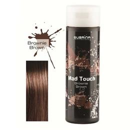 Gel pentru Colorare Directa fara Amoniac - Subrina Mad Touch Direct Hair Colour - Brownie Brown, 200ml