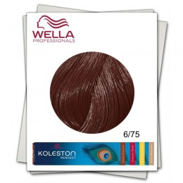 Vopsea Permanenta - Wella Professionals Koleston Perfect nuanta 6/75 blond inchis maro mahon