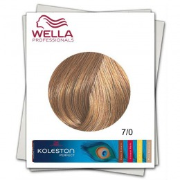 Vopsea Permanenta - Wella Professionals Koleston Perfect nuanta 7/0 blond mediu