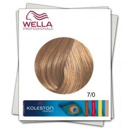 Vopsea Permanenta - Wella Professionals Koleston Perfect nuanta 7/0 blond mediu