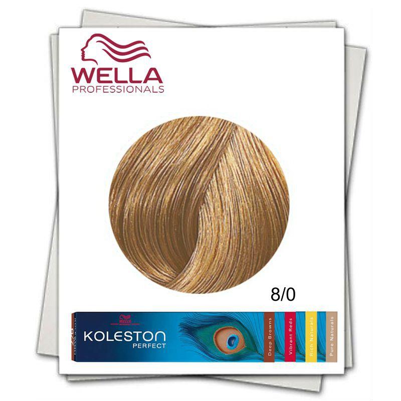 Vopsea Permanenta Wella Professionals Koleston Perfect Nuanta 80