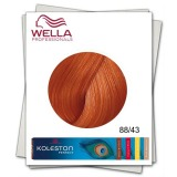 Vopsea Permanenta - Wella Professionals Koleston Perfect nuanta 88/43 blond deschis intens rosu auriu