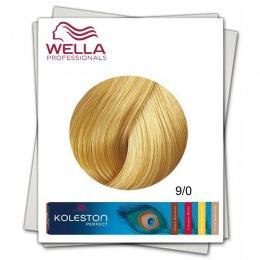 Vopsea Permanenta - Wella Professionals Koleston Perfect nuanta 9/0 blond luminos