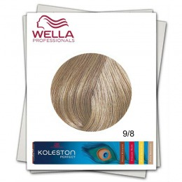 Vopsea Permanenta - Wella Professionals Koleston Perfect nuanta 9/8 blond luminos albastrui