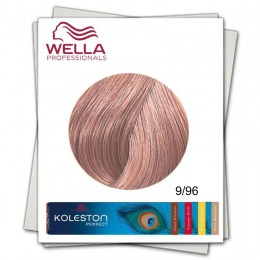 Vopsea Permanenta - Wella Professionals Koleston Perfect nuanta 9/96 blond luminos perlat violet
