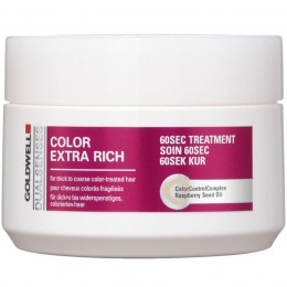 Masca Pentru Par Vopsit Goldwell Dualsenses Color Extra Rich 60s Treatment 200 Ml