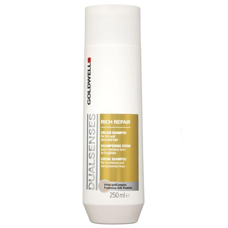 Sampon Reparator - Goldwell Dualsenses Rich Repair Shampoo 250 ml imagine