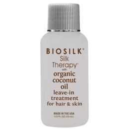 Tratament cu Ulei de Cocos pentru Par si Piele - Biosilk Farouk Silk Therapy with Coconut Oil Leave-In Treatment for Hair and Skin, 15ml