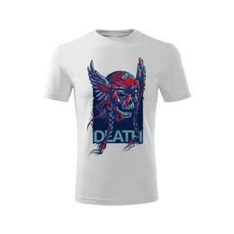 Imagine indisponibila pentru Tricou DEATH barbati alb, L