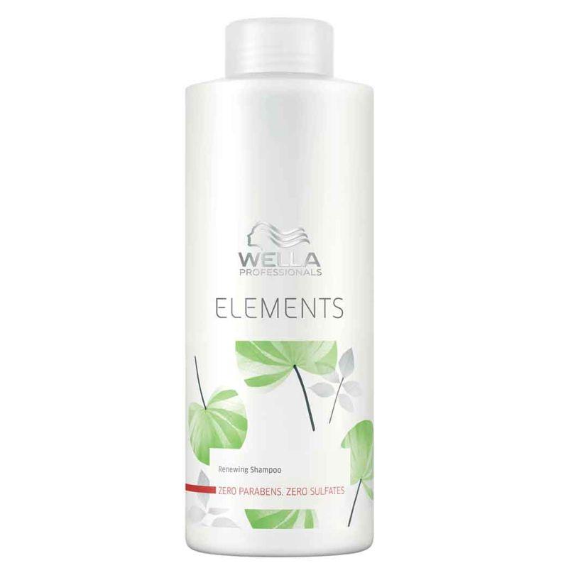 Sampon Revitalizant - Wella Professionals Elements Renewing Shampoo 1000 ml poza