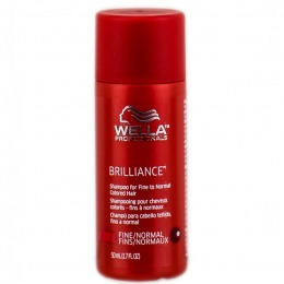 Sampon Par Vopsit Fin Sau Normal Wella Professionals Brilliance Shampoo 50 Ml