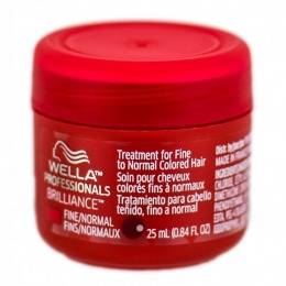 Masca Pentru Par Vopsit Fin Sau Normal Wella Professionals Brilliance Mask 25 Ml