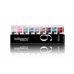 Set 9 sclipici minerali Glamorous Glitter 15.75 g BellaPierre