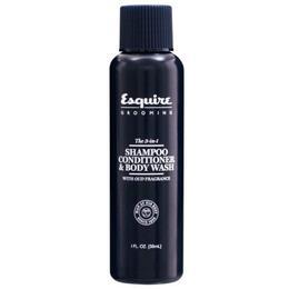Sampon, Balsam si Gel de Dus 3 in 1 pentru Barbati - CHI Farouk Esquire Grooming 3 in 1 Shampoo, Conditioner & Body Wash, 30ml