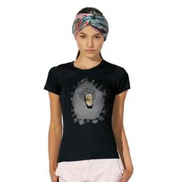 Tricou dama Leu Michelangelo, negru, marime XL