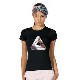 Tricou dama triunghi Michelangelo, negru, marime L