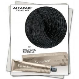 Vopsea Permanenta - Alfaparf Milano Evolution of the Color nuanta 6.01 Biondo Scuro Natural Ash