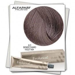 Vopsea Permanenta - Alfaparf Milano Evolution of the Color nuanta 8.21 Biondo Chiaro Violet Ash