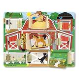 Puzzle magnetic, Ascunde si descopera Hide and seek, Farm