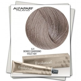 Vopsea Permanenta - Alfaparf Milano Evolution of the Color nuanta 9.21 Biondo Chiarissimo Violet Ash
