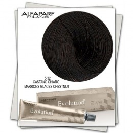 Vopsea Permanenta - Alfaparf Milano Evolution of the Color nuanta 5.32 Castano Chiaro Marrons Glaces Chestnut
