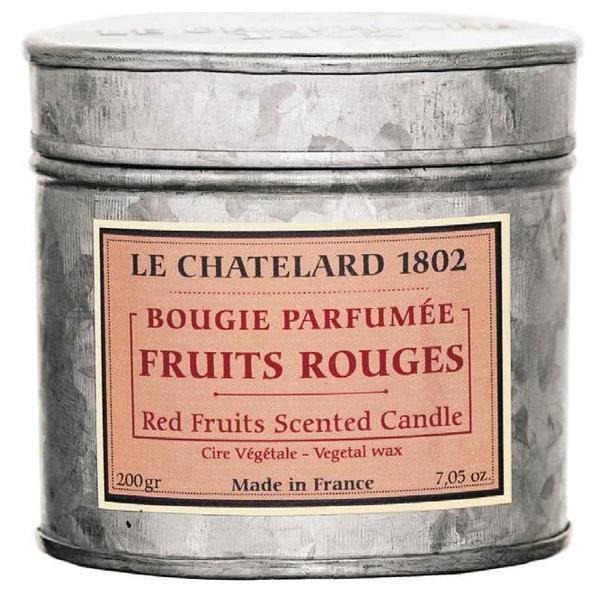 Lumanare Parfumata 200g Fructe Rosii Le Chatelard 1802 Cutie Galva 2 Fitile imagine produs