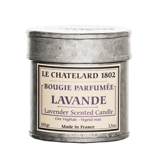 Lumanare Parfumata 100g Lavanda de Provence Le Chatelard 1802 Cutie Galva imagine produs
