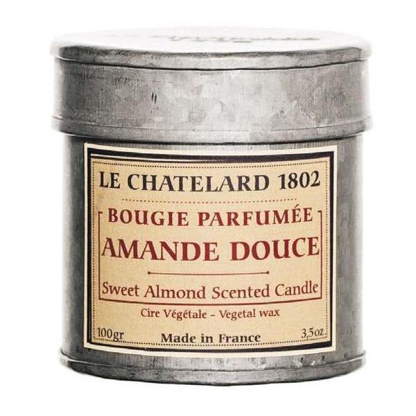 Lumanare Parfumata 100g Migdale Dulci Amandes Douces Le Chatelard 1802 Cutie Galva