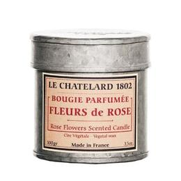 Lumanare Parfumata 100g Trandafir Rose Le Chatelard 1802 Cutie Galva